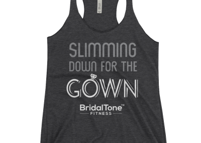 Slimming Down Tank in grey